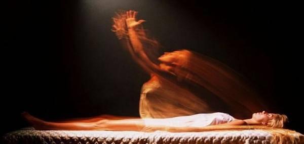 photographié une âme quittant son corps