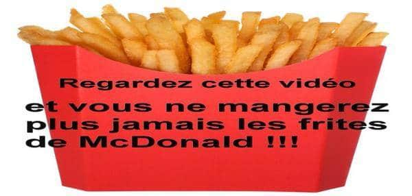 frites McDo