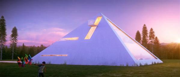 vivre dans une pyramide
