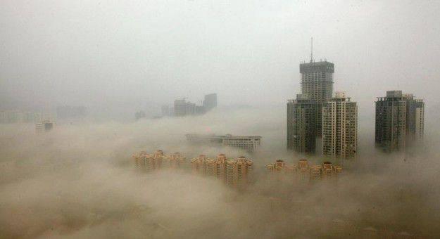 villes polluées