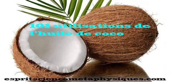 utilisations de l huile de coco