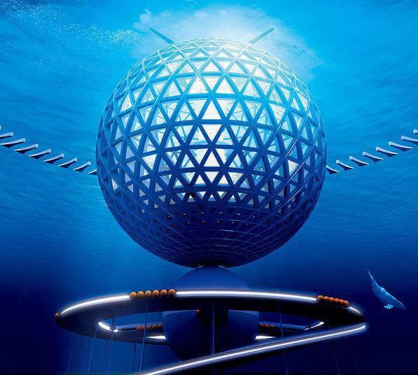 première ville sous-marine