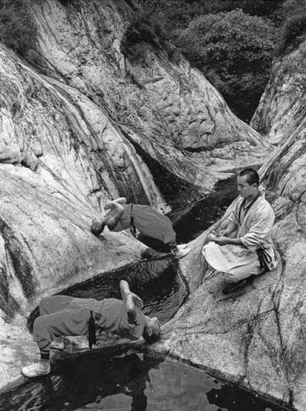 entraînement des moines Shaolin