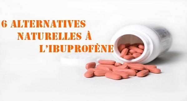 alternatives naturelles à l'Ibuprofène