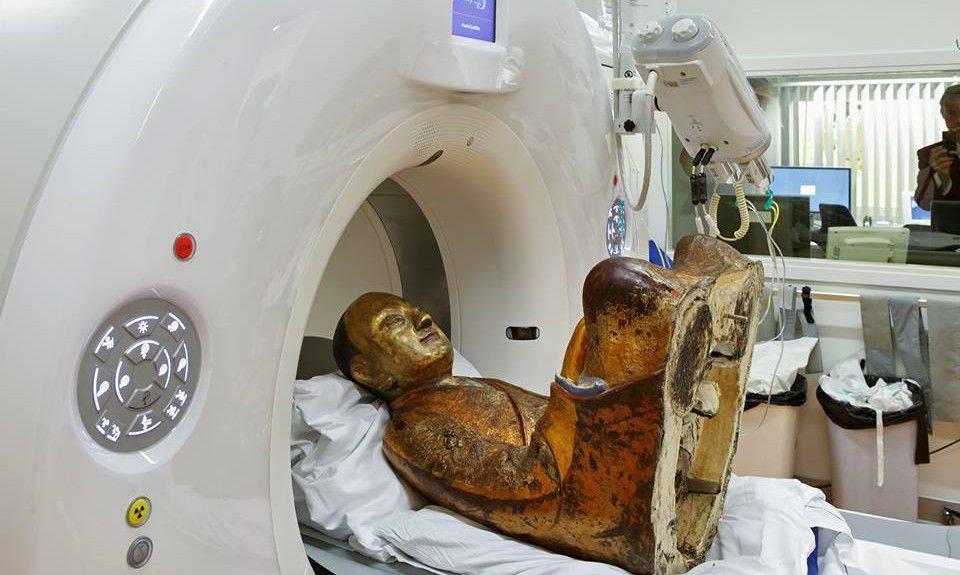 Une statue bouddhiste de 1 000 ans passée au scanner Statue-bouddhiste-2