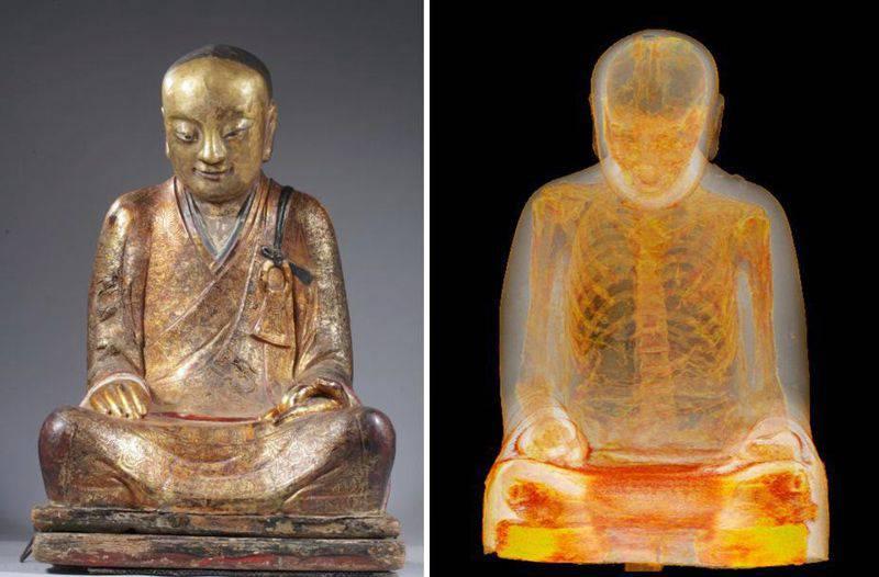 Une statue bouddhiste de 1 000 ans passée au scanner Statue-bouddhiste-5