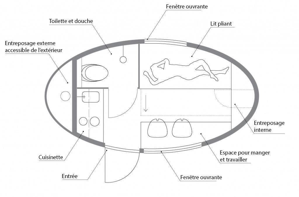 Cette capsule incroyable vous permet d'habiter n'importe où sur terre Capsule-incroyable-3-1024x677