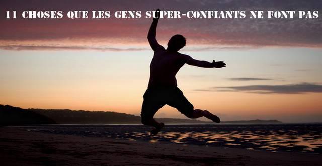 GENS SUPER-CONFIANTS
