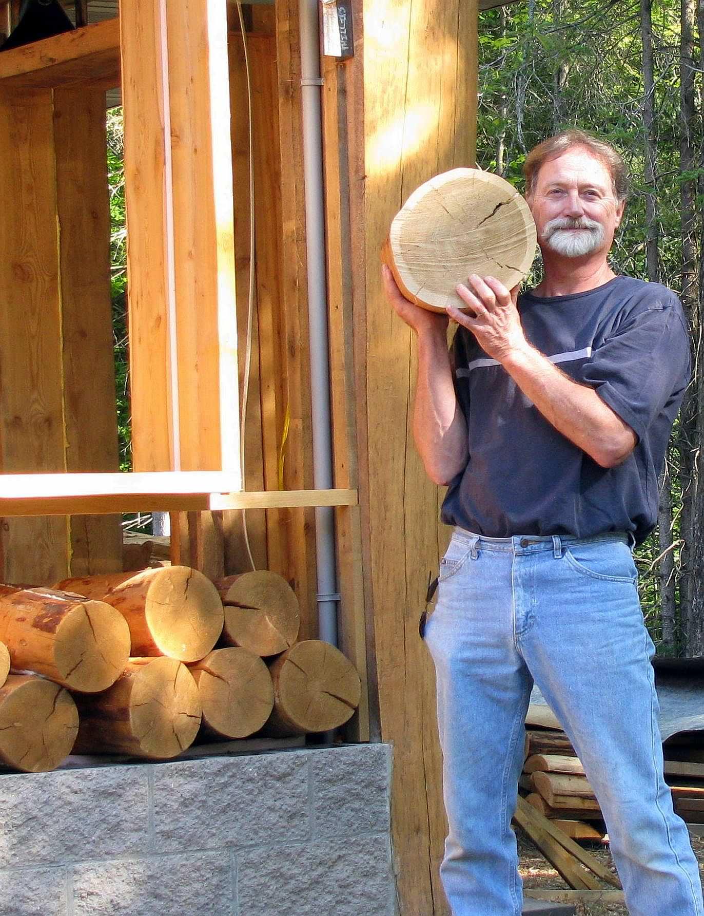 disques de bois