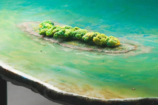 tables en cristal