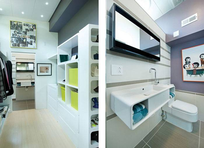 Convert Five Shipping Containers Into a Modern Home Bathroom