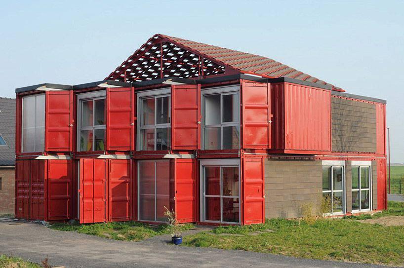 Préférence Les plus belles maisons faites avec des containers de stockage YE02