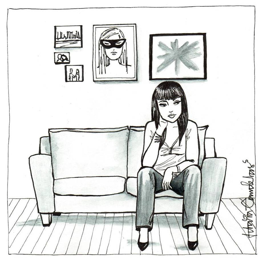 single-woman-drawings-alone-postmodern-loneliness-idalia-candelas-6