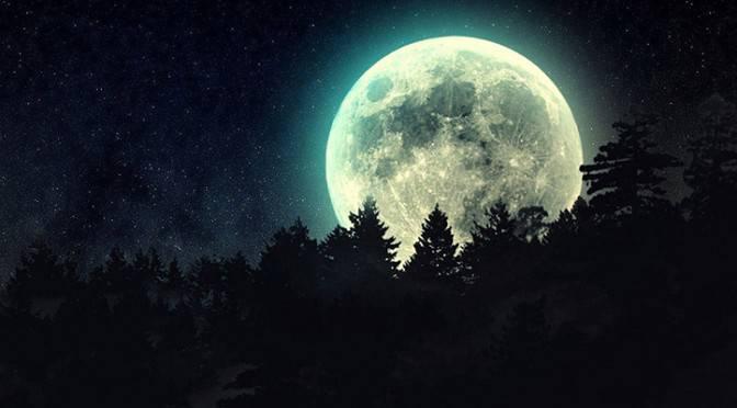 la pleine lune au mois de decembre