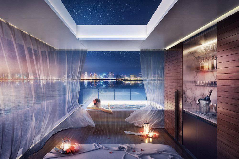 appartements flottants spectaculaire