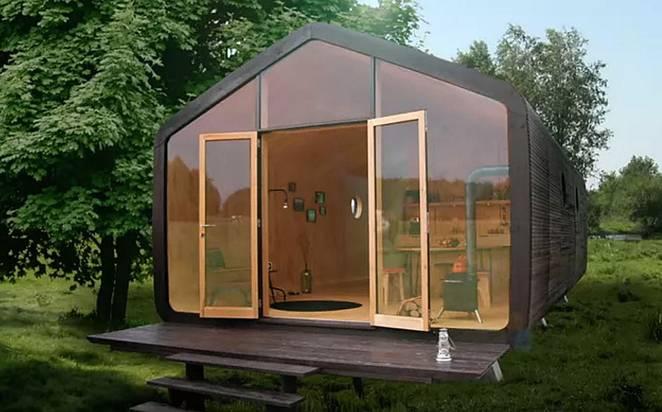 Petite Maison En Carton Elle Prend Une Journe  Construire Et Peut