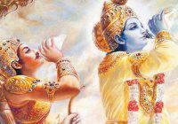 """Voici 10 leçons de vie de la Bhagavad Gita, un ancien texte indien rempli sagesse. 1. Le changement est la loi de l'univers """"Ce que vous avez pris, vient d'ici et d'ailleurs Ce que vous avez donné a été donné ici"""
