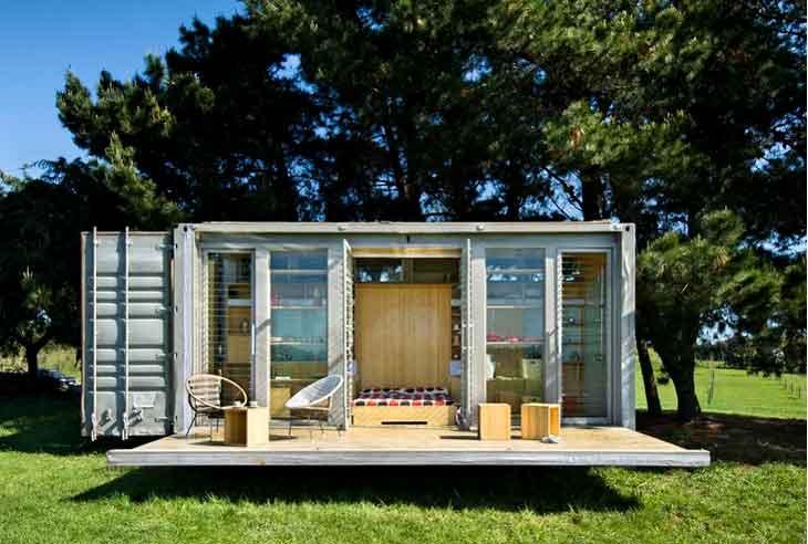 Comment transformer un conteneur maritime de 2 000 en une maison pique hor - Container habitation prix ...