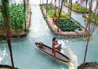 jardins flottants