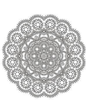 Fleur-Mandala