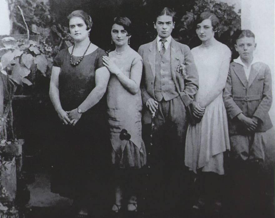 Frida Kahlo en garçon