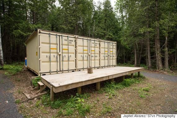 Maison en conteneur maritime maison container maritime for Transformer un conteneur en habitation