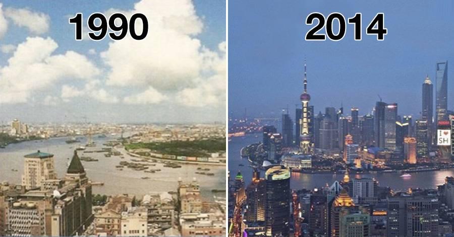 Avant et apr s voir quel point le monde a chang au - Quel est le nom le plus porte au monde ...