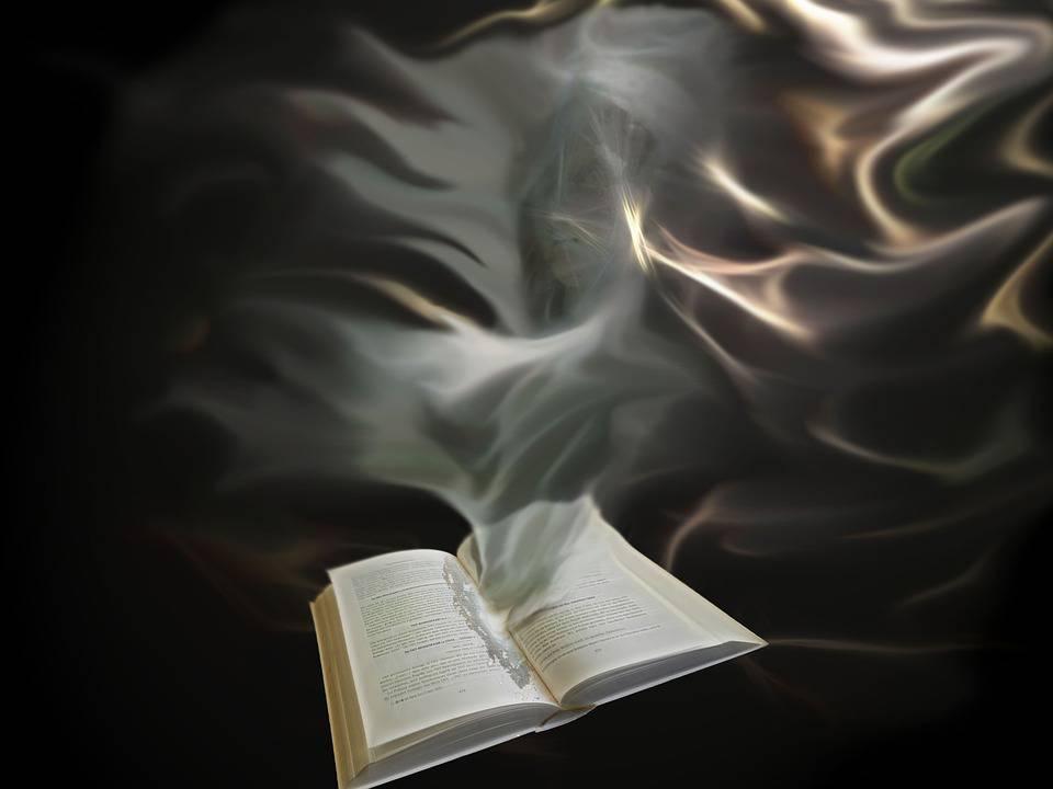 Esprit, Âme, Livre, Fumée, Souvenirs, Volatils, Pensées