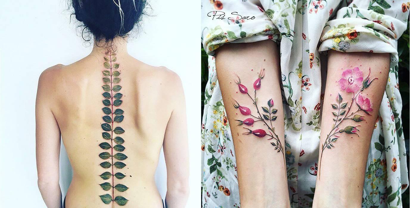 tatouages exquis