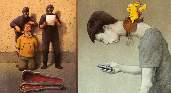 Ce militant résume notre situation actuelle avec des illustrations spectaculaires