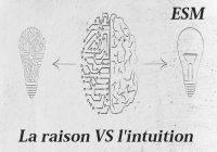 Le raisonnement vs L'intuition Si vous êtes sur le point d'aller à un entretien avec un moral dans le brouillard, alors vous ne faites certainement confiance à votre instinct. Si vous vous sentez dans l'incapacité totale d'accomplir