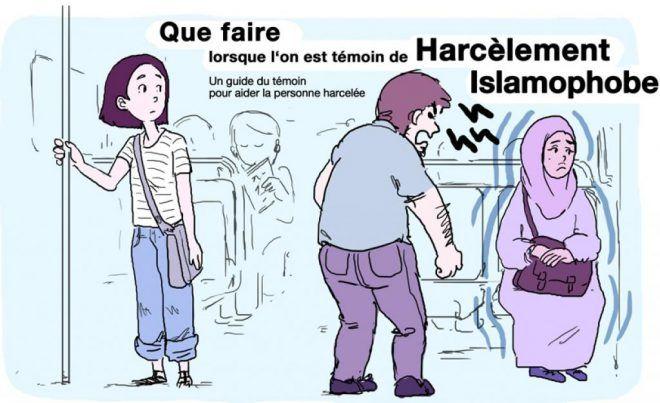 La bande dessinée que vous vous apprêtez à lire est destinée à mettre fin aux harcèlements islamophobes. Mais nous pensons qu'elle peut être utile pour tous les types d' intimidation.