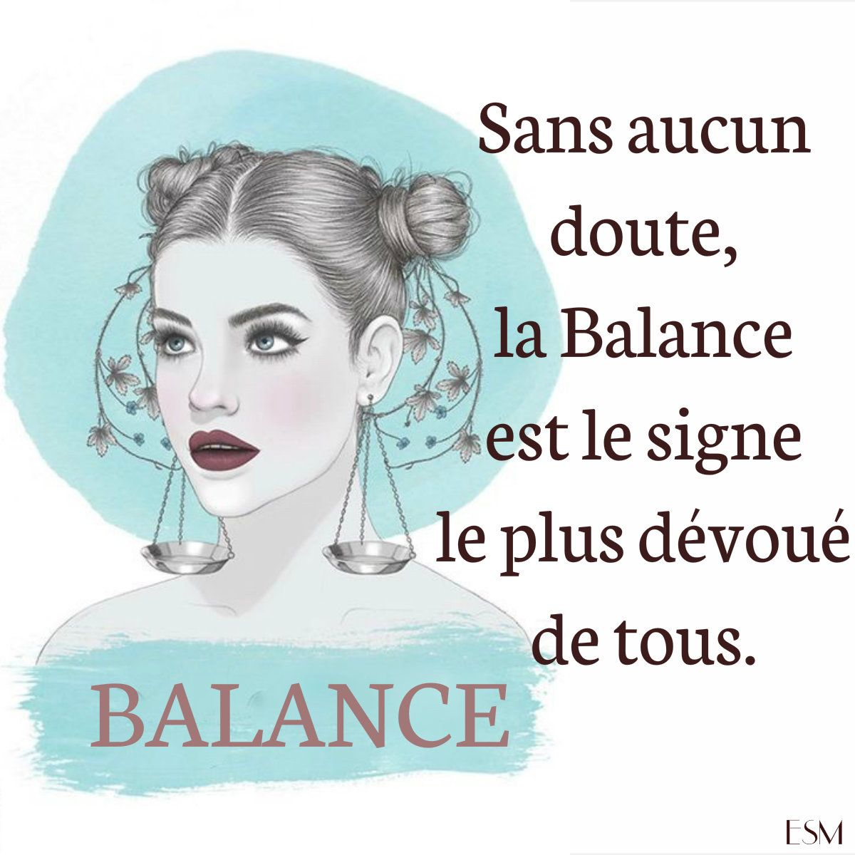 Ce signe la Balance
