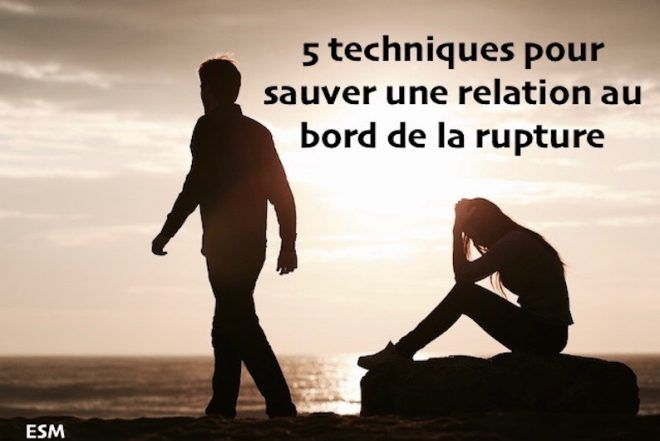 sauver une relation