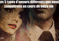 types d'amours
