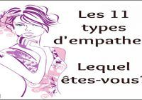 types d'empathes