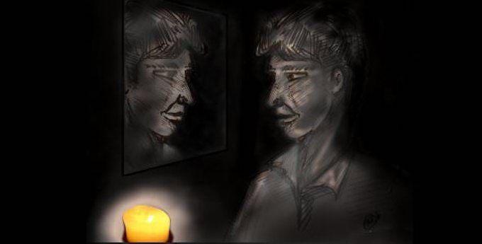 méditation du miroir