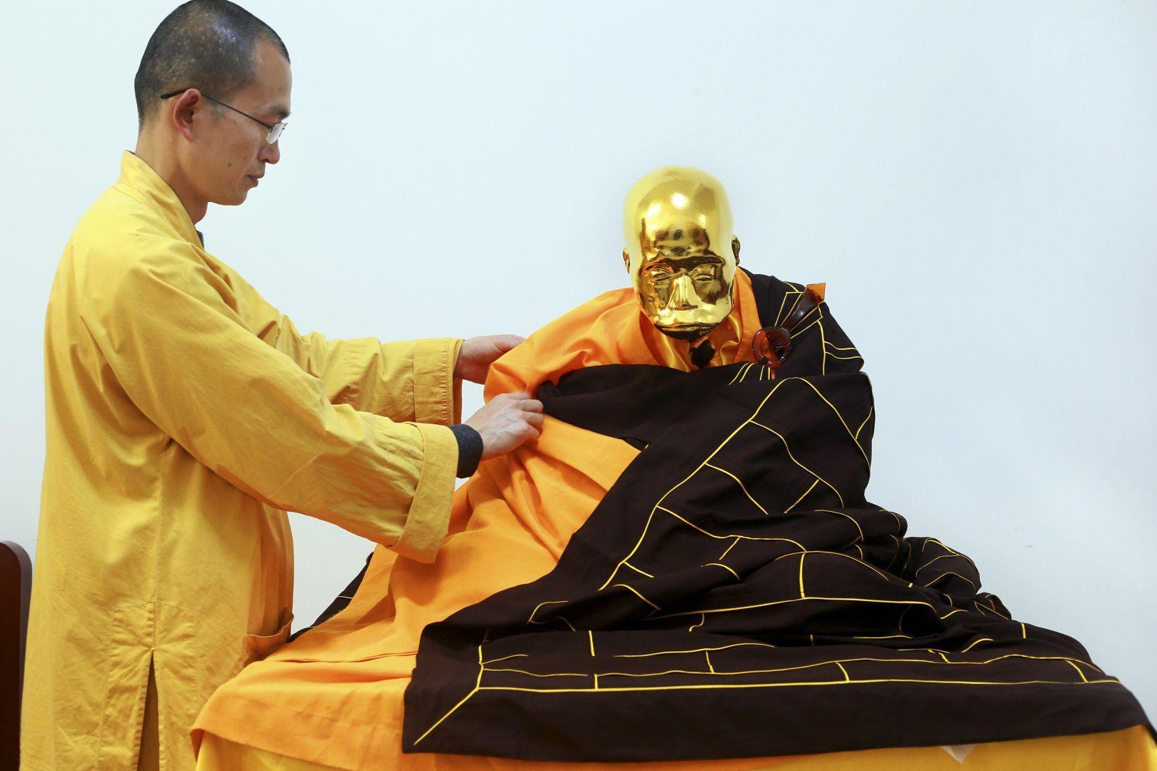 bouddhiste momifié