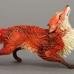 C'est dans son studio que l'artiste russe Evgeny Hontor a élaboré cette série spectaculaire de créatures créées à partir d'une argile de velours.