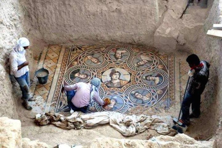mosaïques grecques