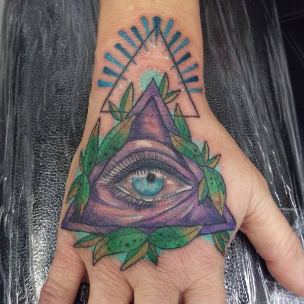 12 tatouages incroyables pour les personnes spirituelles - Tatouage oeil signification ...