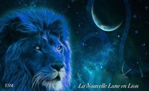 Nouvelle Lune en Lion