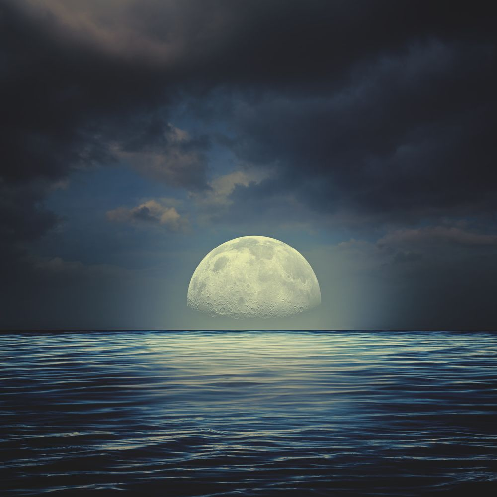 affecté par la pleine lune