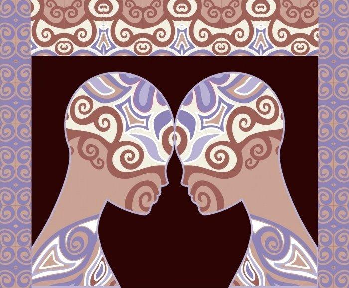 relation entre deux flammes jumelles
