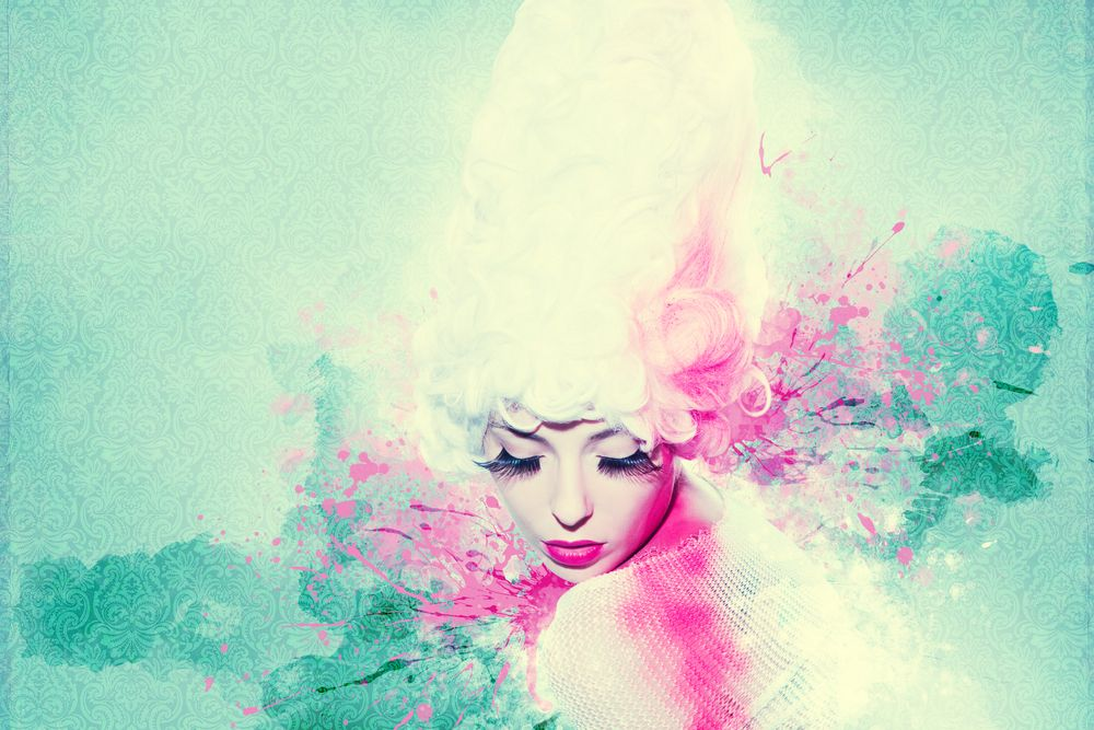 une femme spirituelle