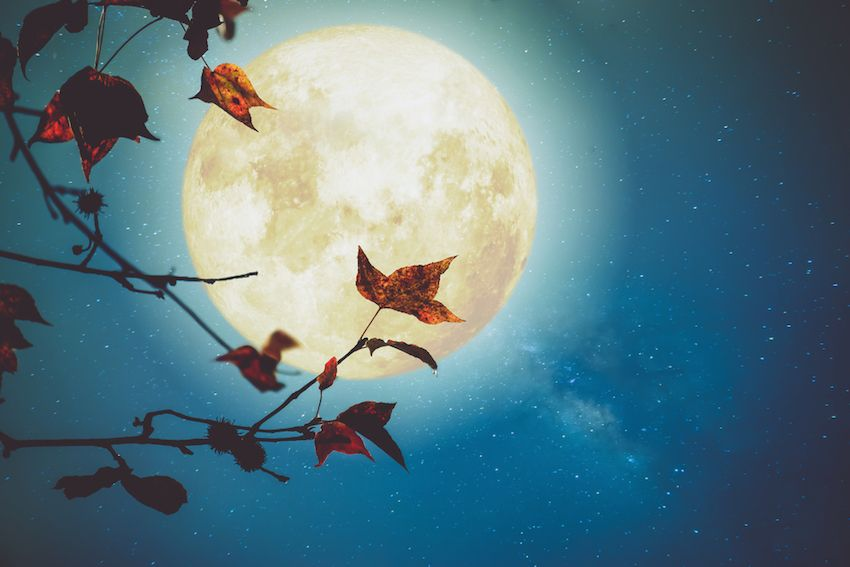 La pleine lune d octobre 2017 la lune de la r colte ou la lune du chasseur - Lune descendante octobre 2017 ...