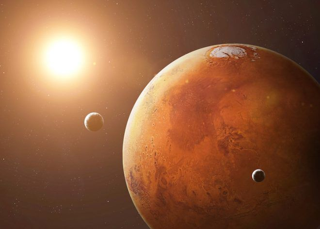 Vénus et de Mars