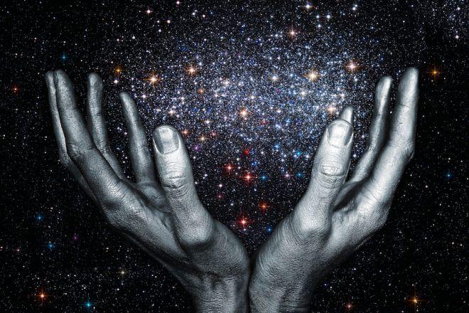 demande à l'univers