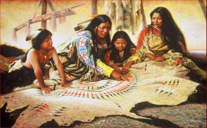 règles de vie que suivent les amérindiens
