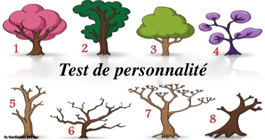 test de personnalité très simple
